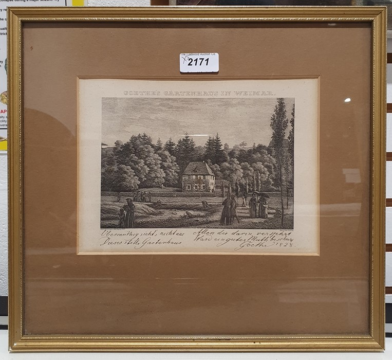 Assorted pictures and printsincluding a print of Surrey Cricket Ground, two engravings marked - Image 3 of 7