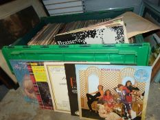 Large quantity of long-playing records to include church music, dance music, the Nolan Sisters,