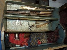Quantity of tools to include, sanders, drill, toolbox, a Black and Decker drill and vintage tools