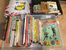 Quantity Classic Car magazines, football rattle, copy of Football Weekly and Goal magazines, various