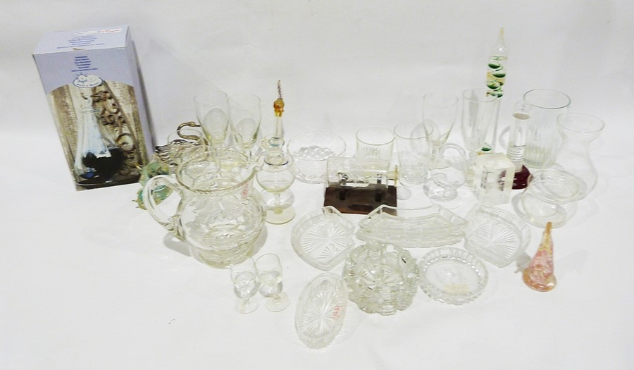 Selection of glasswareto include cut glass wines, rose bowl, advertising tumblers including Haig - Image 3 of 3