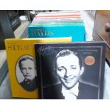 Boxed record collections to include Bing Crosby, Richard Strauss, Haydn, Bach and long-playing