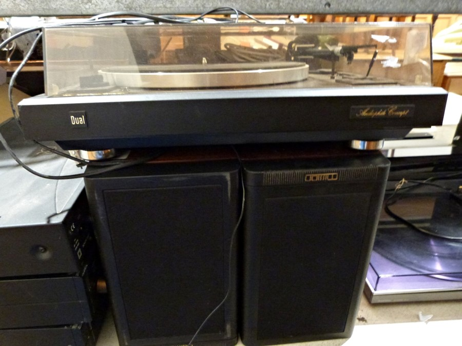 Dual Audiophile Concept record deck, speakers, an Arcam Alpha CD player, amp and tunerCondition - Image 3 of 9