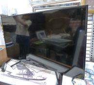 50 inch Sony flatscreen television, Model KDL-50WG663 (No remote control)Condition ReportModel No.