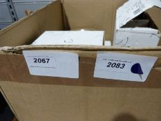 Part stoneware dinner service, cream with brown rim but packed in the wrong Villeroy & Boch boxes