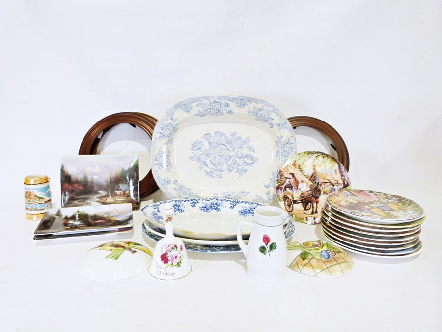Four boxes of assorted china and glasswareto include Aynsley 'Wild Tudor' vase, Jersey pottery - Image 3 of 5
