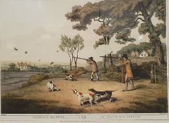 Set of eight reproduction hunting prints(8)