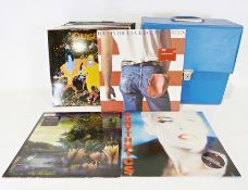 Quantity of LP recordsincluding Fleetwood Mac 'Tango in the Night', Eurythmics 'Be Yourself