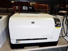 Hewlett Packard laserjet CP1525N colour printer