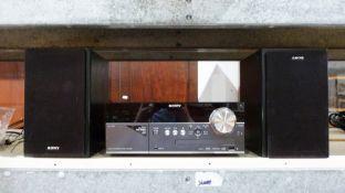 Sony micro hifi system CNT-MX550I and Ipod (160Gb)