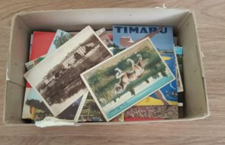 Collection of 150+ postcards(1 box)