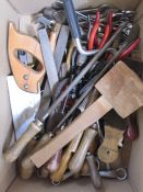 Quantity of toolsto include saws, files, spanners, etc (1 box)