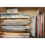 Quantity of art and design catalogues and ephemerato include catalogues from Cornwall Contemporary,