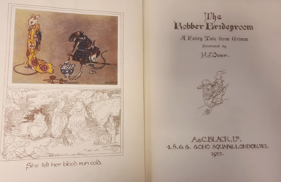 """Owen H S ( ills) """" The Robber Bridegroom,A Fairy Tale from the Brothers Grimm"""" A & C Black 1922, - Image 14 of 29"""