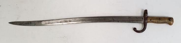 French 1866 Chassepot epee bayonet
