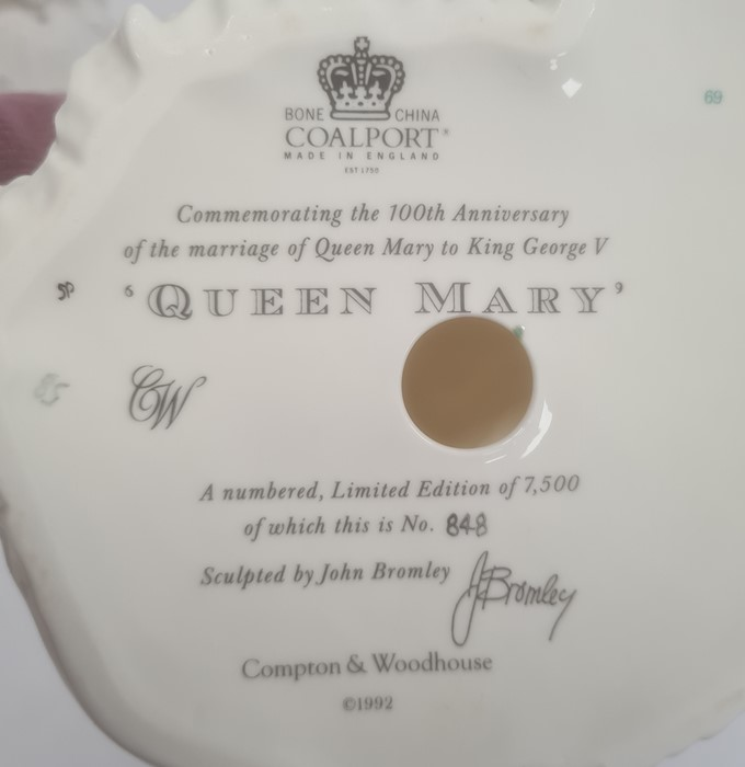 Three Coalport Royal Bridesto include 'Queen Victoria', 'Queen Mary' and 'Princess Alexandra' (with - Image 4 of 4