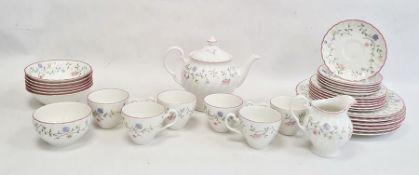 Quantity of Johnson Brothers tableware in the Summer Chintz pattern comprising plates, side