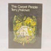 "Prachett,Terry "" The Carpet People"" Colin Smythe Gerrards Cross 1971, ills throughout, name"