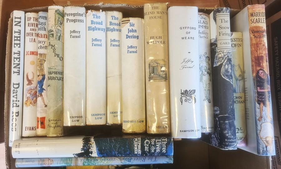 Quantity of children's booksto include Jeffrey Farnell, Hugh Walpole, John Buchan, Rosemary - Image 2 of 2