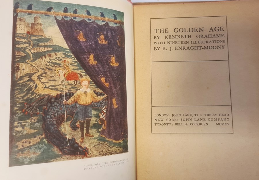 """Owen H S ( ills) """" The Robber Bridegroom,A Fairy Tale from the Brothers Grimm"""" A & C Black 1922, - Image 11 of 29"""