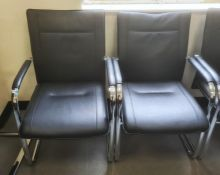 Two Dauphin office chairs(2)
