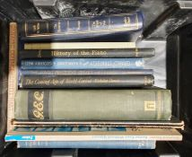 Quantity of assorted volumes to include Penguin paperbacks, poetry, militaria, etc (6 boxes)