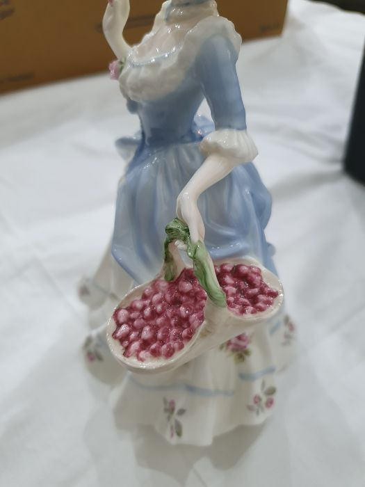 Collection of six Coalport Cries of London figurines to include 'The Flower Seller', 'Oranges and - Image 9 of 29
