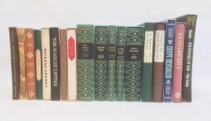 Folio societyto include Charles Dickens, Shakespeare, etc (33 vols) (2 vols not folio society)