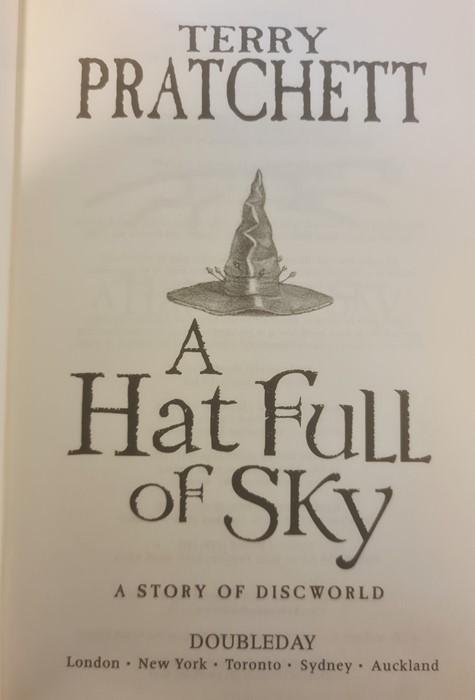 "Pratchett, Terry ""Nation"" (2 copies), ""Wintersmith"", ""I Shall Wear Midnight"", ""A Hatful of Sky"", "" - Image 13 of 21"