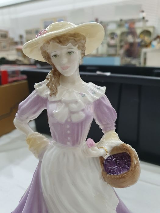 Royal Worcester 'The Four Seasons' figurinesto include 'Winter', 'Spring', 'Summer' and 'Autumn' ( - Image 14 of 22