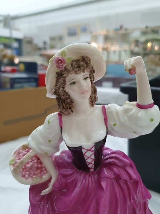 Collection of six Coalport Cries of London figurines to include 'The Flower Seller', 'Oranges and - Image 26 of 29