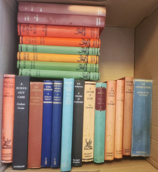 Early 20th Century children's books - Eleanor Brent-Dyer, Angela Brazil, P G Wodehouse ( 2 boxes) - Image 3 of 4