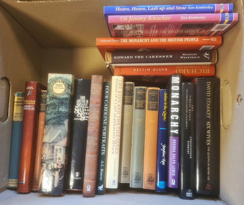 Assorted volumes on various subjects, Biography - Antonia Fraser, Jeremy Paxman etc. books on - Image 2 of 3
