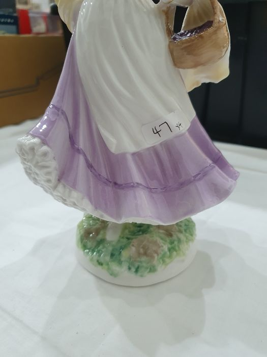 Royal Worcester 'The Four Seasons' figurinesto include 'Winter', 'Spring', 'Summer' and 'Autumn' ( - Image 15 of 22