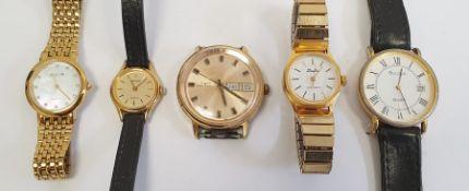 Quantity of lady's and gentleman's wristwatchesincluding Timex, Accurist, Avia, Sekonda, etc
