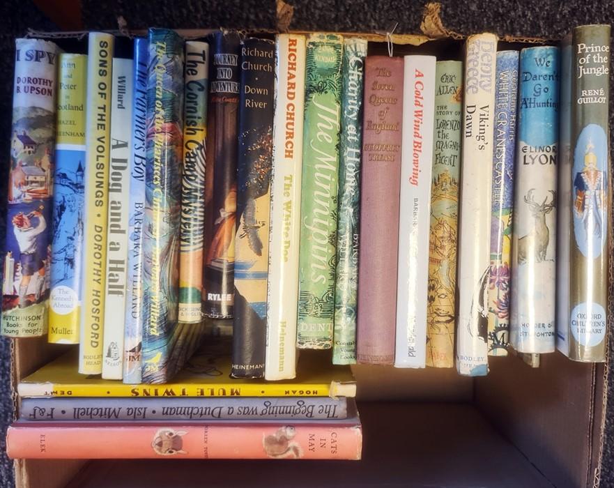Modern and Earlier children's books - Isla Mitchell, Doreeen Tovey, Barbara Willard, Richard Church, - Image 3 of 3