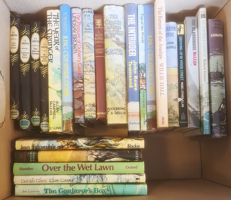 Quantity of children's booksto include Jeffrey Farnell, Hugh Walpole, John Buchan, Rosemary