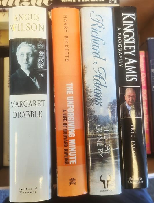 Autobiographies and Biographies - Kenneth Tynan, Richard Adams, Rudyard Kipling, Angus Wilson, Angus - Image 4 of 6