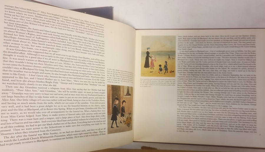 """Bradley Helen """" And Miss Carter wore Pink..."""" Jonathan Cape 1971, ills, pink endpapers, d-j , not - Image 4 of 13"""
