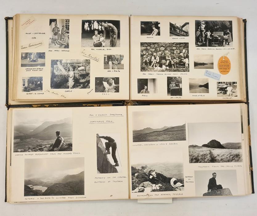 Early 20th Century family photograph album, including 'London Wedding Lloyd-Parker... Mr Sampson