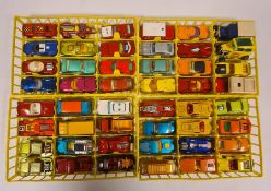 Matchbox carry case, various model vehiclesand abox of loose model vehiclesto include tanks
