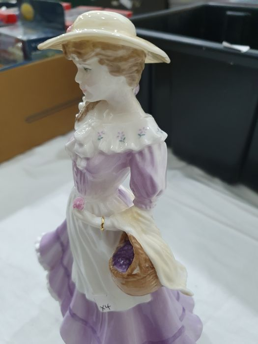 Royal Worcester 'The Four Seasons' figurinesto include 'Winter', 'Spring', 'Summer' and 'Autumn' ( - Image 16 of 22