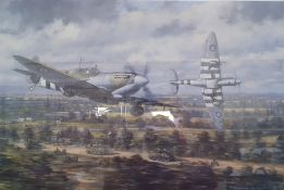 """After Ronald Wong Limited edition colour print """"Friendly Ordinance Beer Run to Normandy"""", titled and"""