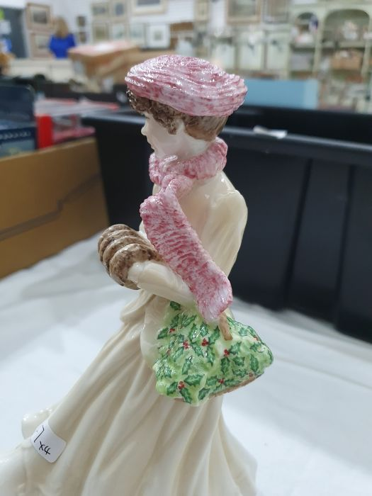Royal Worcester 'The Four Seasons' figurinesto include 'Winter', 'Spring', 'Summer' and 'Autumn' ( - Image 21 of 22