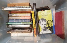 One box of assorted volumes on various subjects to include art, topography, militaria, etc.