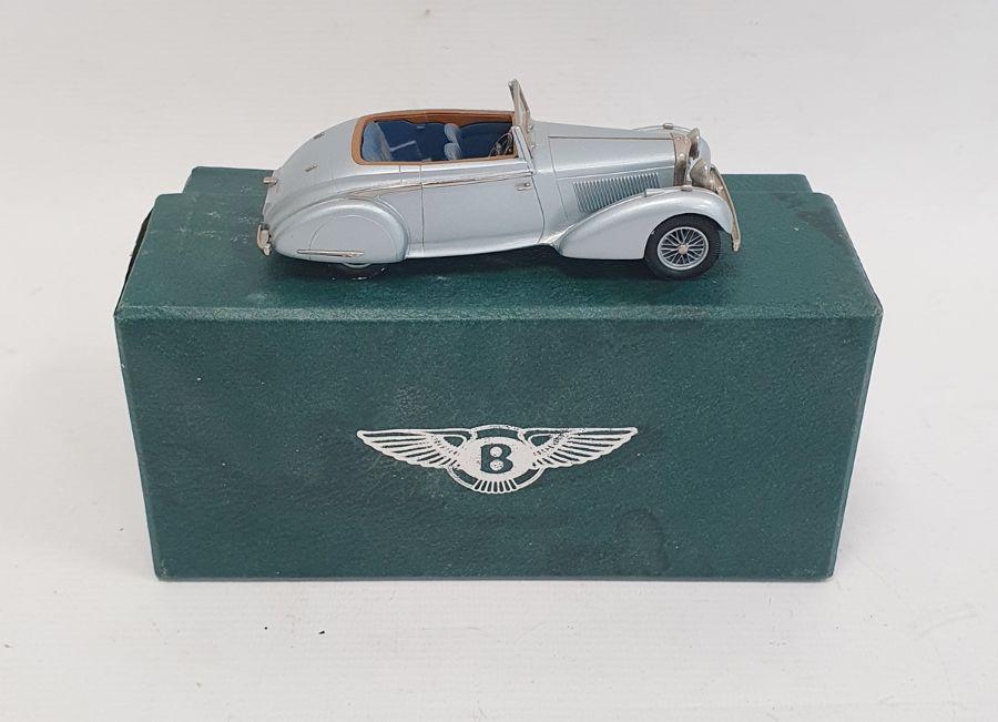 Lansdowne models 1936 Bentley, 4 1/4l concealed DHC, in box
