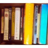 Large quantity of art and design catalogues and ephemeraand art booksto include Icecream, Balthus,