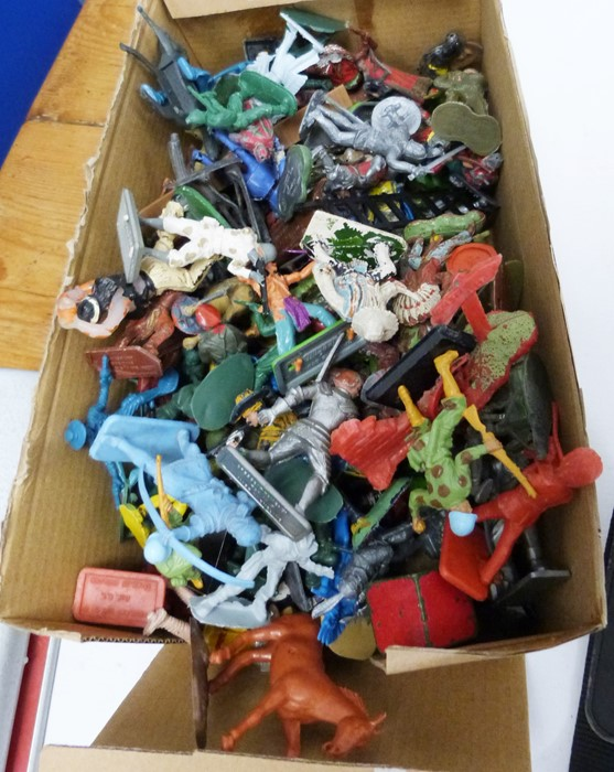 Large quantity of model animals including painted, diecast and plastic, various farm accessories, - Image 2 of 5