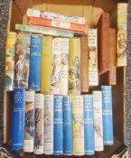 "Brent-Dyer, Eleanor- numerous 'Chalet School ' books, Blyton Enid books "" Fall into Venture"""