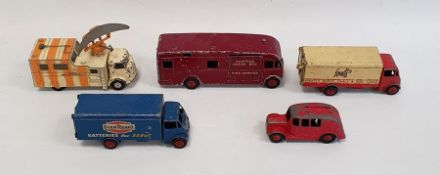 Dinky Supertoys diecast model of a horsebox, a model of a Guy lorrypainted for Spratt's Dog Food,